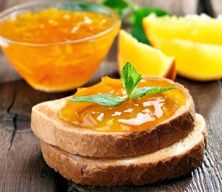 Orange Jam Bread